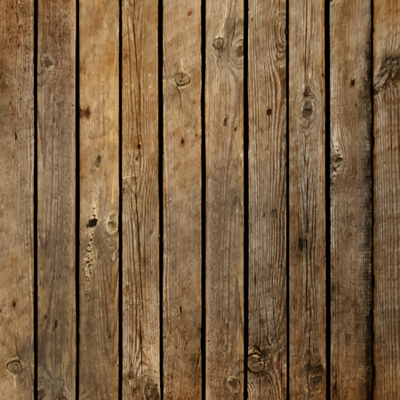 wood board: Dark wood board vector background