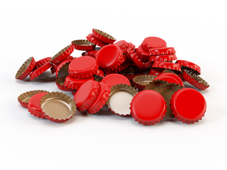 Bottle Caps (Inner side have included Work Path) photo