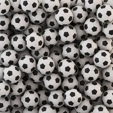 field  soccer: Bal�n de f�tbol de fondo Foto de archivo