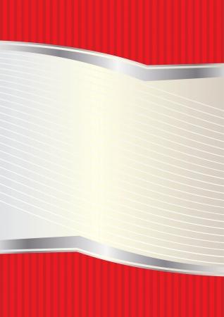 menu card design: illustration label background for design label and packing