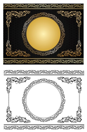 Ornament in style of Russian national tradition -  illustration Vector