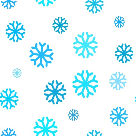 patterning: Seamless pattern with New Years snowflakes