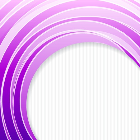 abstract backround: Violet banner, ready for your message   illustration