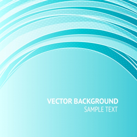abstract backround: Blue abstraction with lines, ready for your message  illustration