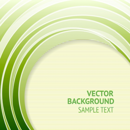 abstract backround: Green background with lines, ready for your message  illustration