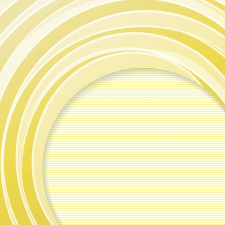 Yellow background with lines, ready for your message  illustration  Vector