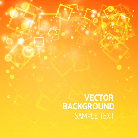 Background with squares and lights, ready for your text  Vector Illustration, eps10, contains transparencies  Vector