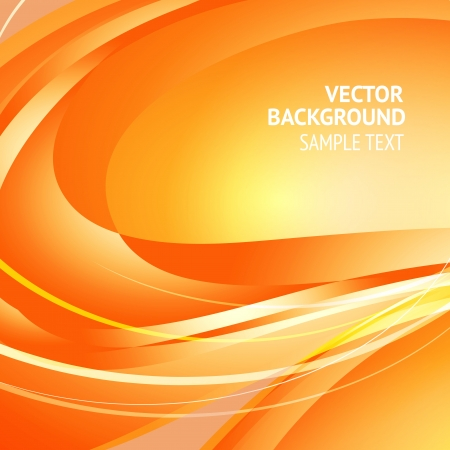 Background design, abstract orange backdrop  Vector Illustration, eps10, contains transparencies  Vector