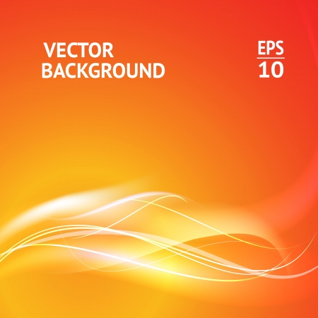 cool background: Abstract smooth horizontal background lines for your text  Vector Illustration  Illustration