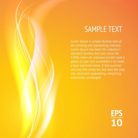 Abstract smooth lines  Vector background Stock Vector - 17169293