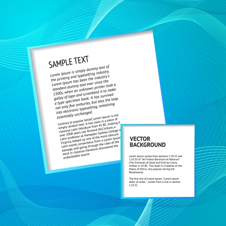 transparencies: Elegant blue background  Vector Illustration, contains transparencies