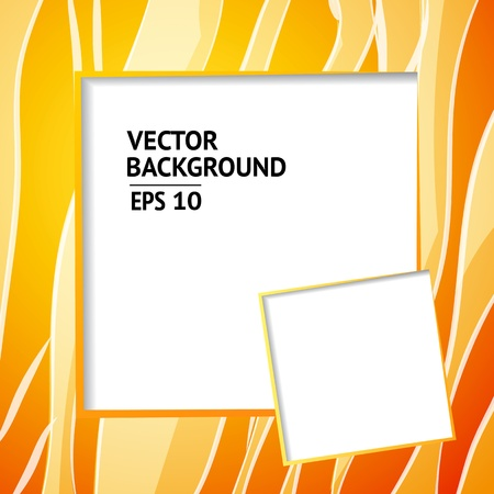 abstract backround: Background design, abstract orange backdrop  Vector Illustration, contains transparencies