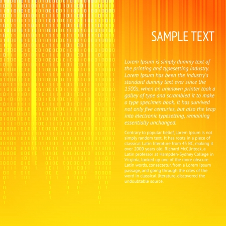Vertical lines background with blank text  Vector illustration  Vector
