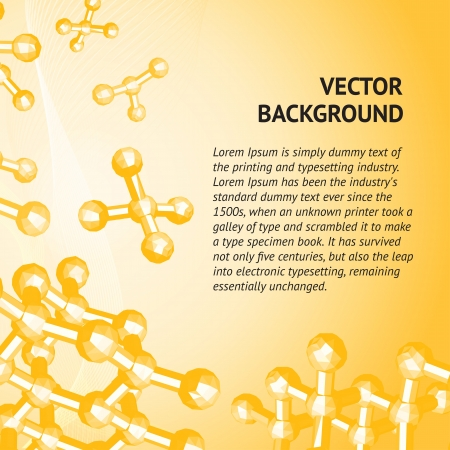 Molecule of diamond Stock Vector - 17314358