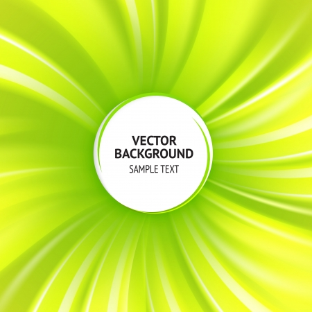 Abstract green cover with smooth lines  Vector background, contains transparencies Stock Vector - 17605957