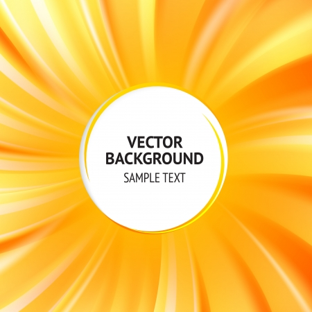 Abstract orange cover with smooth lines  Vector background, contains transparencies Stock Vector - 17605942