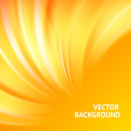 Colorful smooth light lines background  Vector illustration, eps 10, contains transparencies Banco de Imagens - 17605950