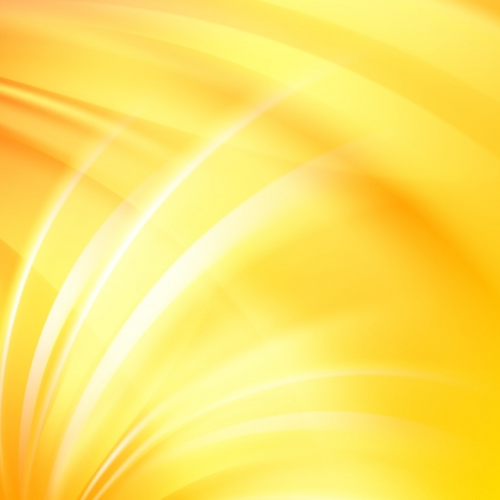 yellow: Colorful smooth light lines background  Vector illustration Illustration