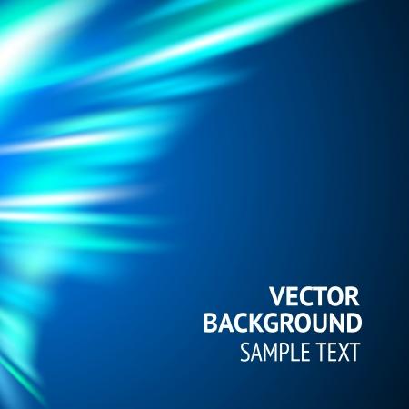 Smooth wave blue design  Vector illustration Stock Vector - 17773373