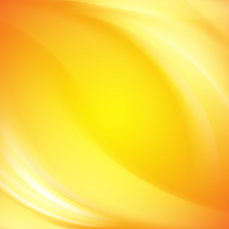 background yellow: Colorful smooth light lines background  Vector illustration Stock Photo