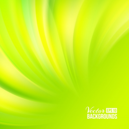 smooth shadow: Green smooth background  Vector illustration