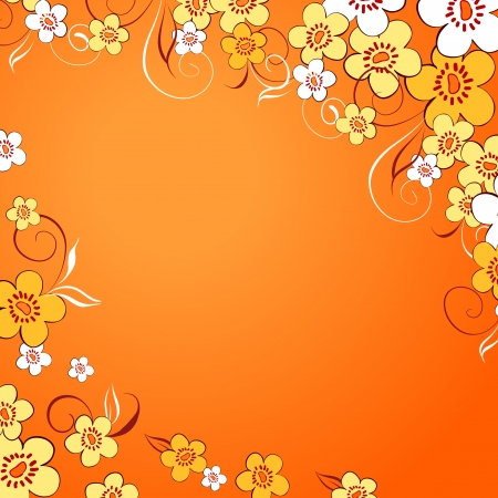 Elegance Colorful texture for decorating background with of flowers  Vector illustration Stock Vector - 18095881
