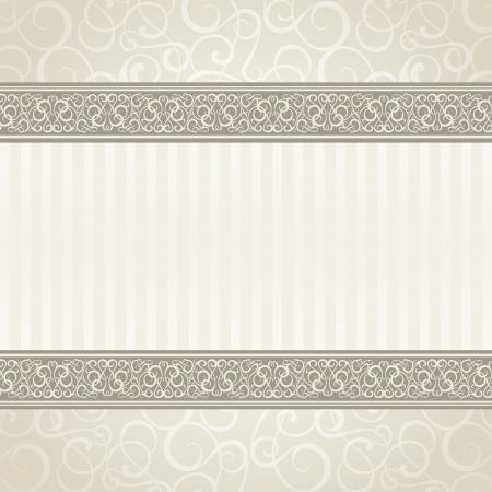 fondo elegante: Vintage estilo ilustraci�n vectorial tarjeta, eps10, contiene transparencias, gradientes y efectos