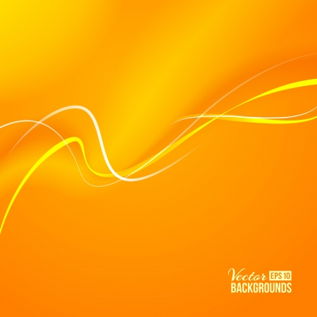 tender: Tender orange light abstract background  Vector illustration, contains transparencies, gradients and effects