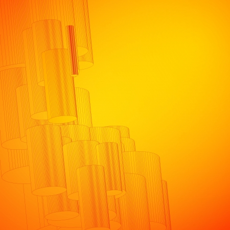 Abstract background for design  Vector illustration, eps10, contains transparencies, gradients and effects Stock Vector - 18095896