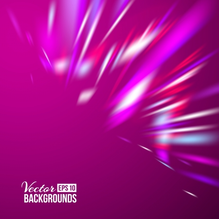 Purple abstract background  Vector illustration, contains transparencies, gradients and effects  Stock Illustration - 18095891