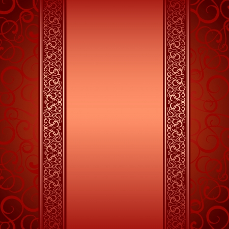 vertical divider: Vector illustration of decorative border and frame  Vector illustration, eps10, contains transparencies, gradients and effects