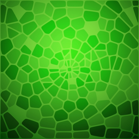 snake skin pattern: Green snake skin abstraction  Vector illustration, contains transparencies, gradients and effects  Illustration