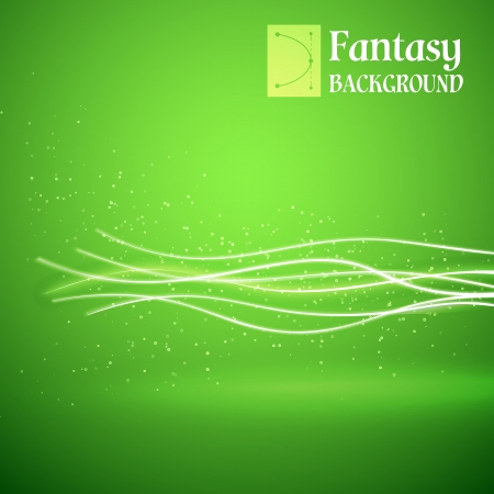 Ecology green background  Vector illustration, contains transparencies, gradients and effects Stock Vector - 18339927