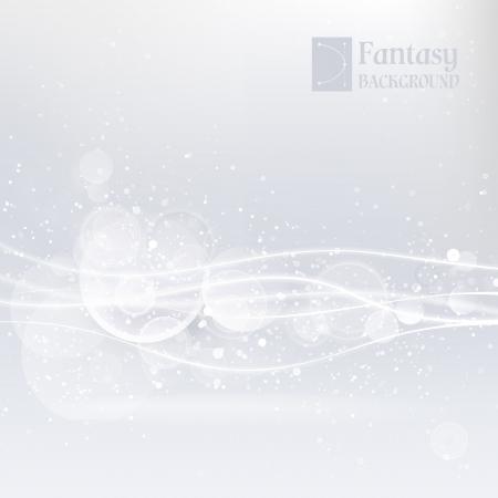 tela blanca: Fondo abstracto blanco con ilustraci�n vectorial de l�neas suaves, contiene transparencias, gradientes y efectos