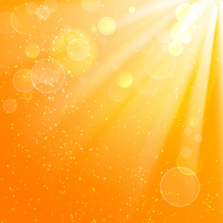 summer background: Beautiful summer background  Vector illustration, contains transparencies, gradients and effects