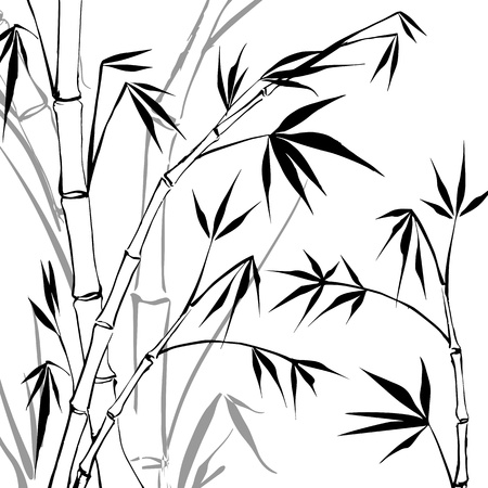 and sumi: Bamboo