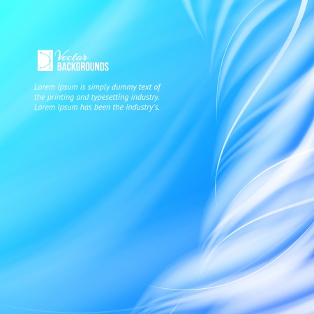 Abstract blue tornado illustration Vector