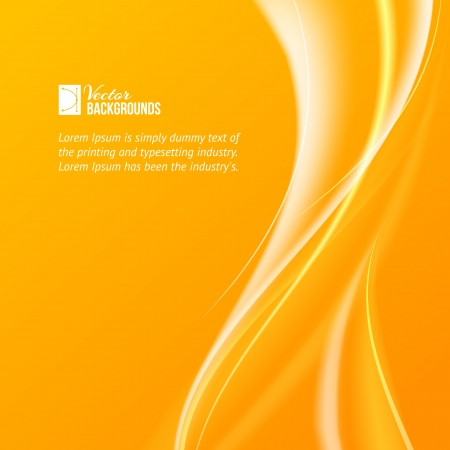background yellow: Abstract background with flame illustration