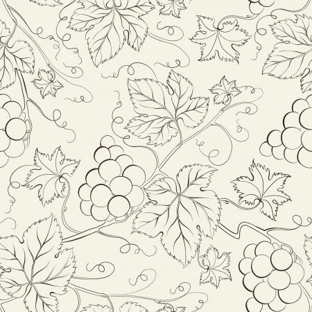 Hand drawn seamless pattern illustration Imagens - 20235857