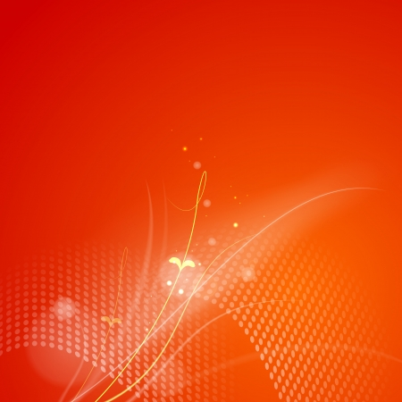 high beams: Abstract red background illustration  Illustration