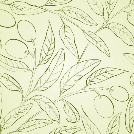 Seamless olive background   photo