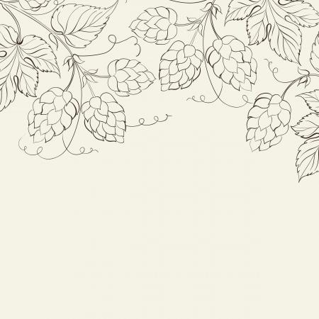 Hop. Vektor-Illustration. Standard-Bild - 21402032