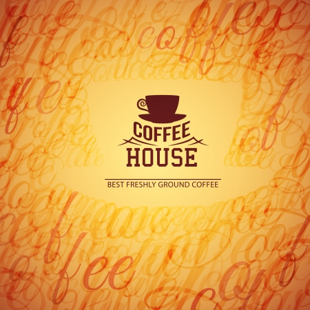 coffee house: Menu for restaurant, coffee house. Vector illustration, contains transparencies, gradients and effects. Illustration