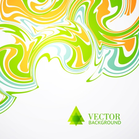 ganglion:  Colors abstract background. Vector illustration