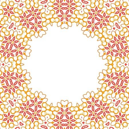Formality circular devices of border frames. Vector illustration. Stock Vector - 23079463