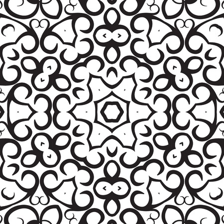 curle: Medallion circular design. Vector illustration. Illustration