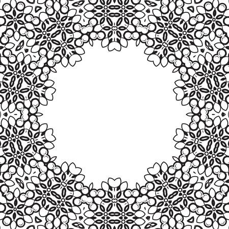 Formality circular devices of border frames. Vector illustration. Stock Vector - 23079480