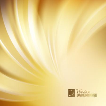 gold swirls: Orange abstract swirl. Vector illustration Illustration