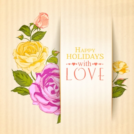 bindweed: Bindweed flower on paper. Vector illustration. Illustration