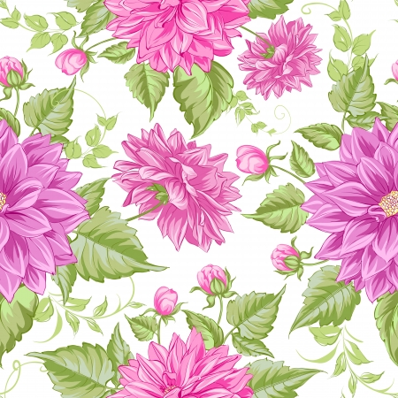 rose garden: Happy valentines seamless pattern.